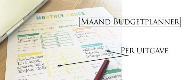 budgetplanner gratis