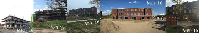 nieuwbouwhuis vordering bouw
