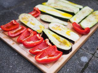 courgette barbecue
