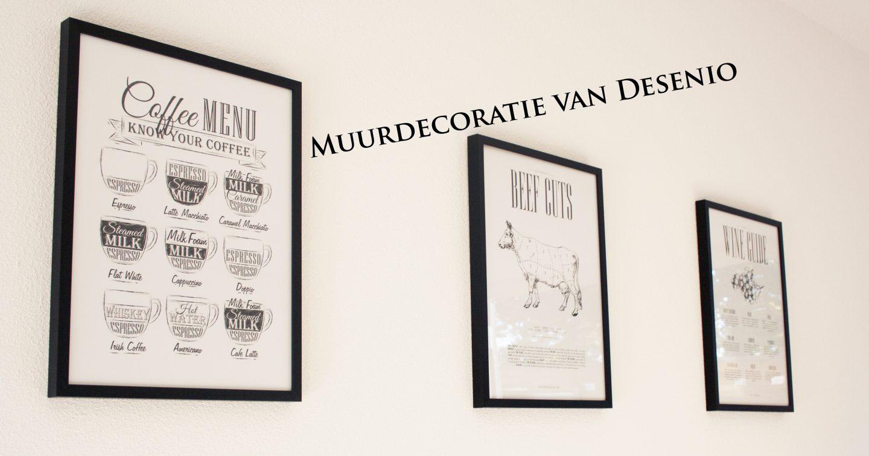 Op de muur: posters van Desenio