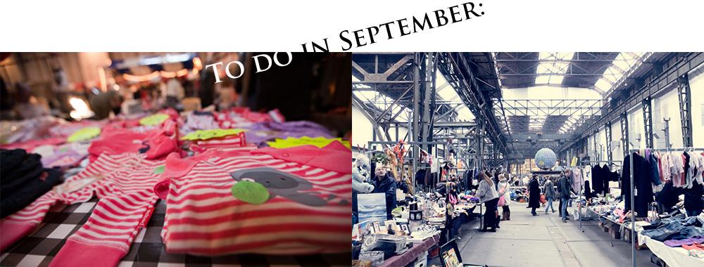 5 Vlooienmarkten die je moet bezoeken in september