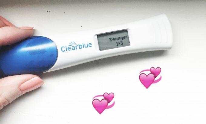 clearblue zwanger