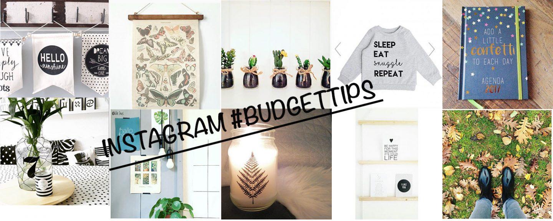 10 #budgettips via Instagram