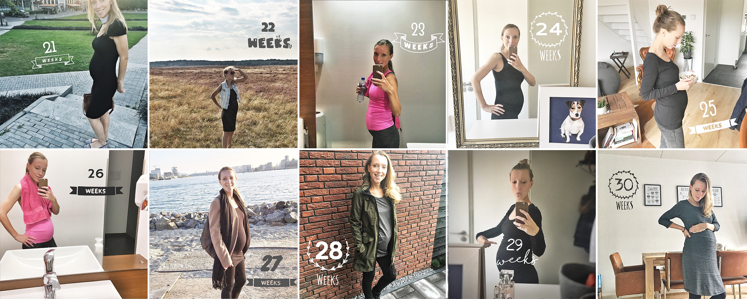 zwanger week 20 t/m 30