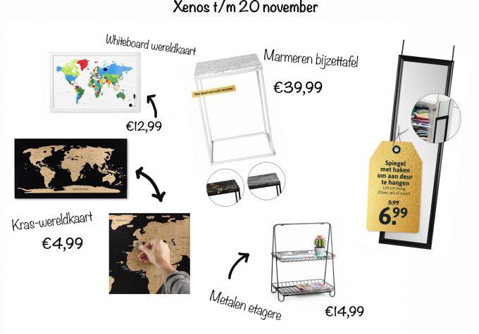 xenos aanbiedingen