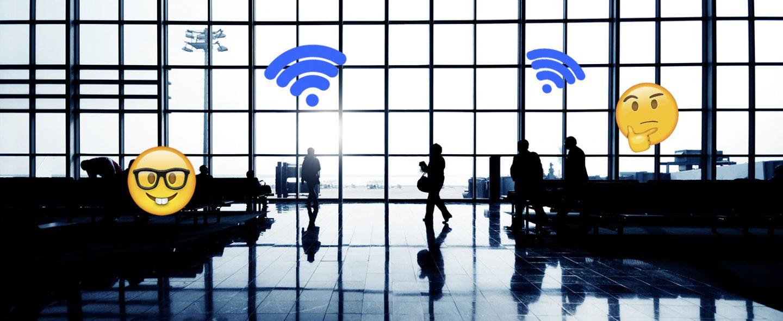 Alle WiFi wachtwoorden van luchthavens op een rijtje