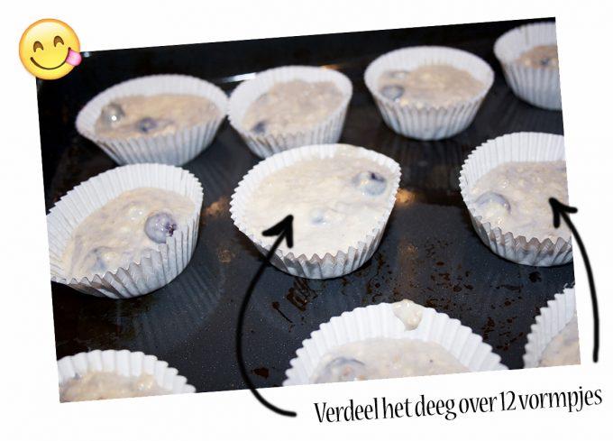 havermout yoghurt muffins