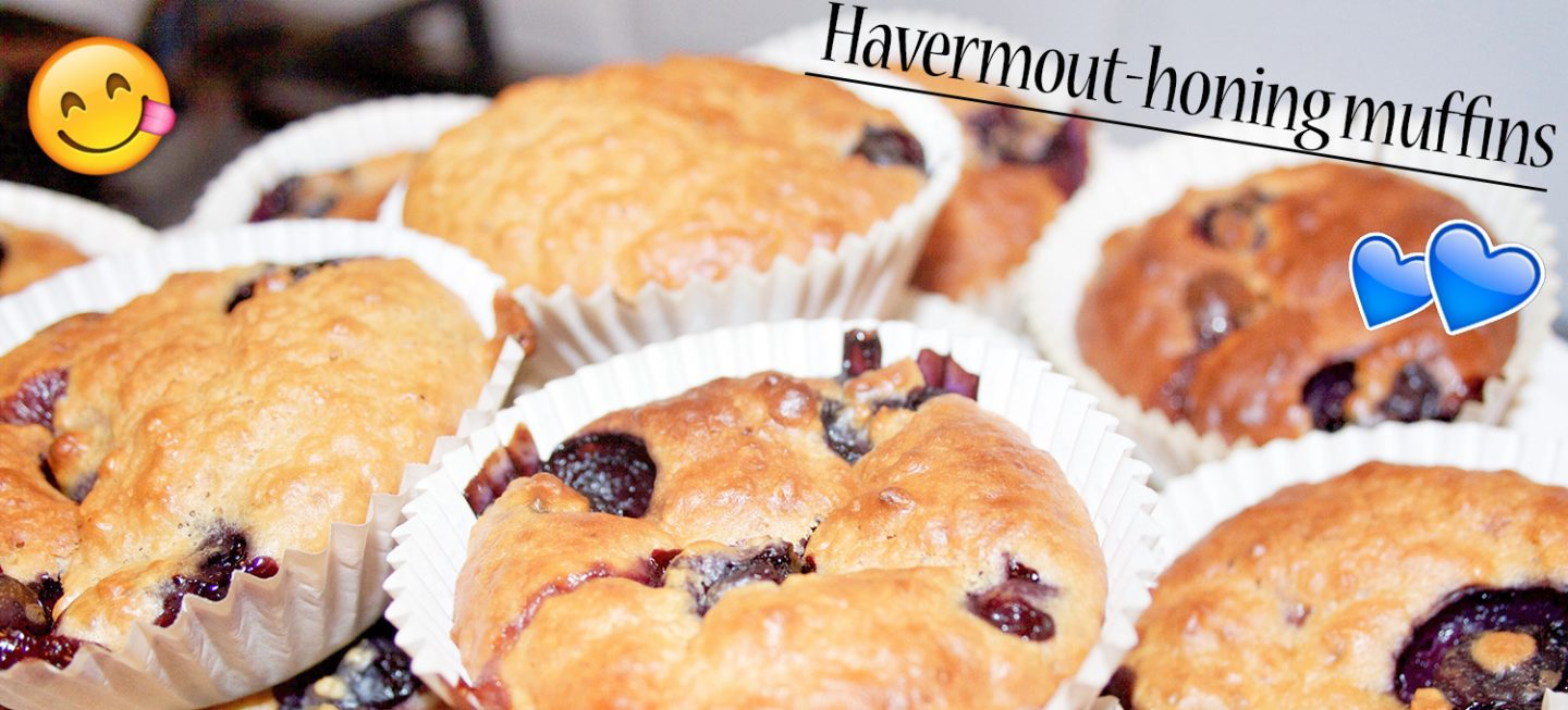Healthy on a budget: Havermout-honing muffins