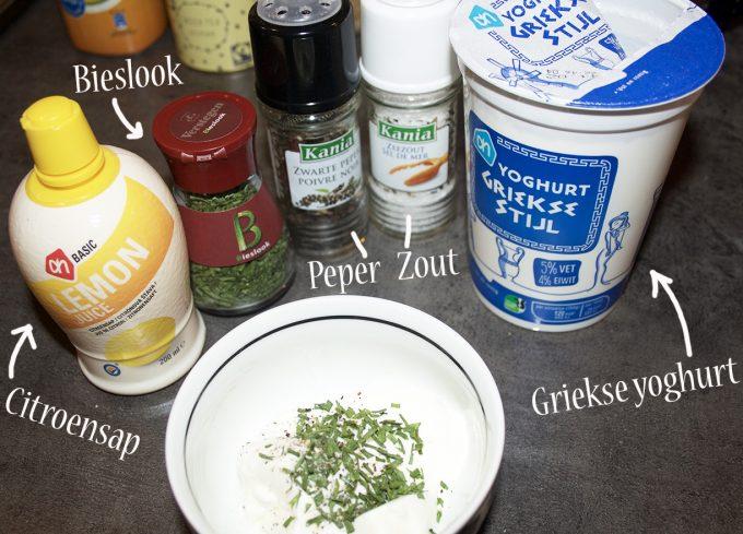 griekse yoghurt mayonaise