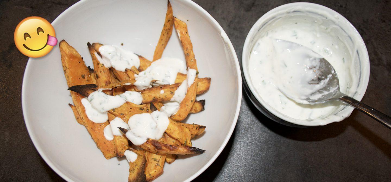 Healthy on a budget: Zoete aardappelfrites