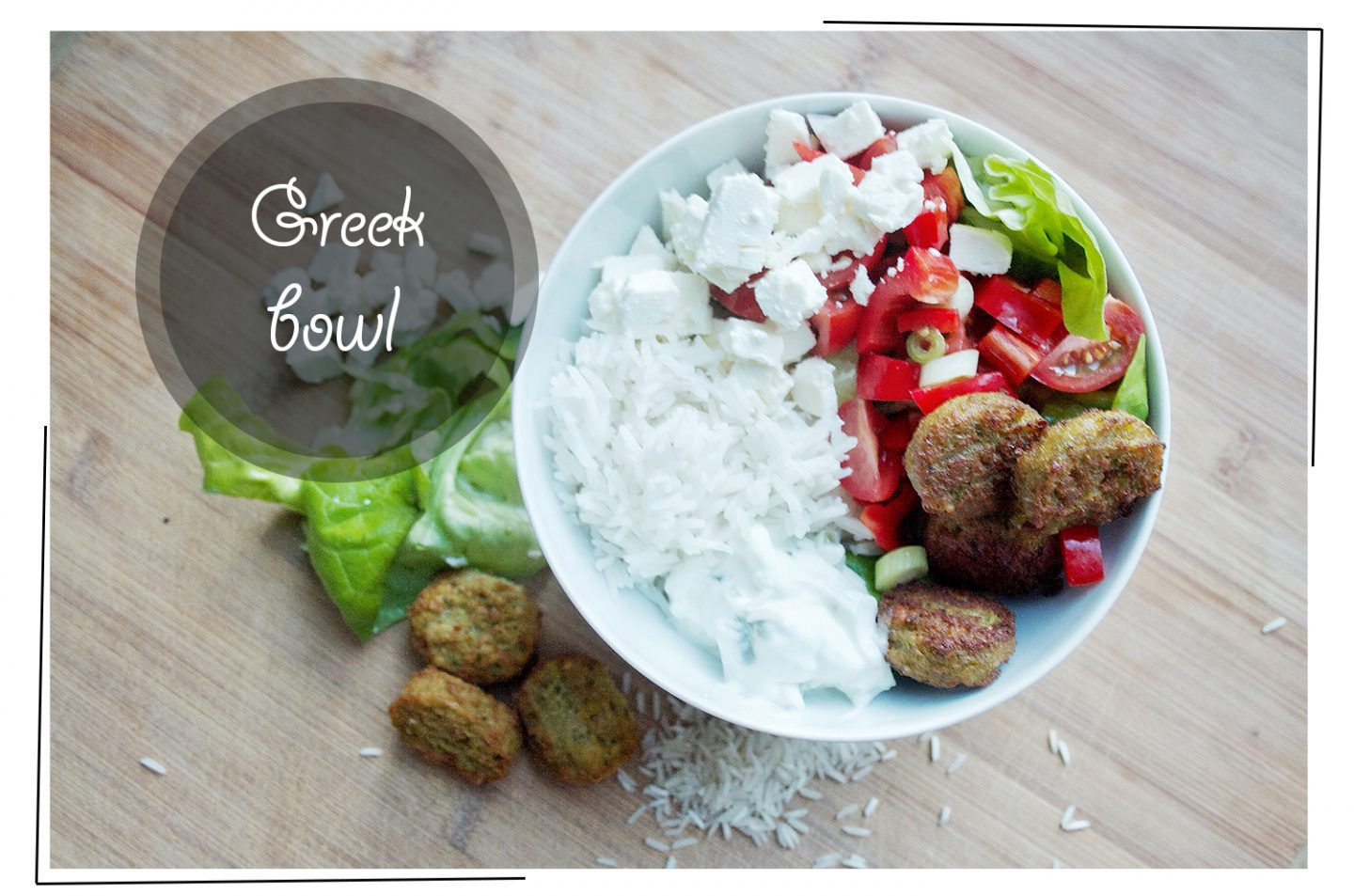 Healthy on a budget: Greek bowl