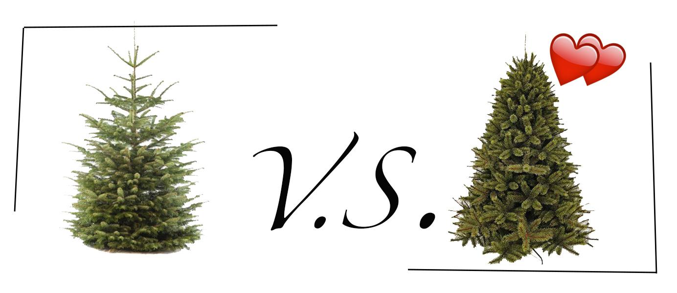 Dilemma: Een echte of neppe kerstboom aanschaffen?