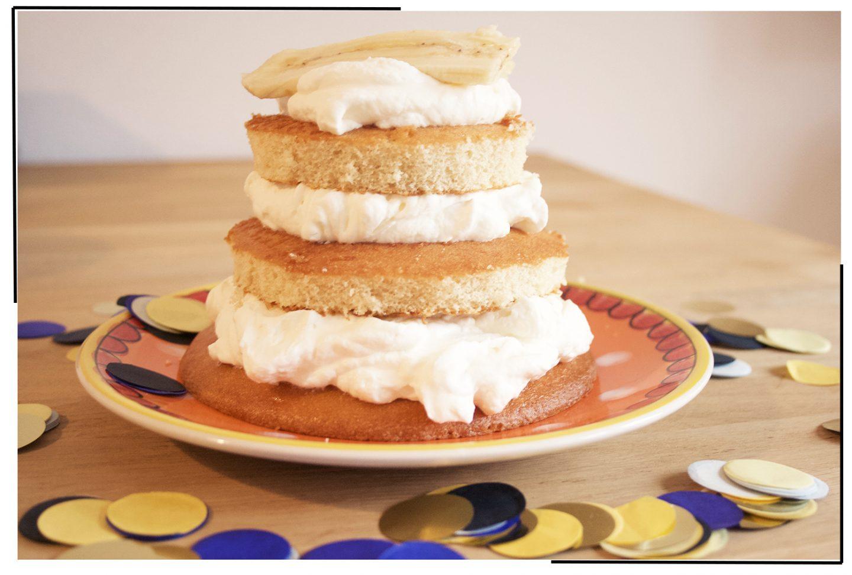 Recept: Cake smash taart voor een 1e verjaardag