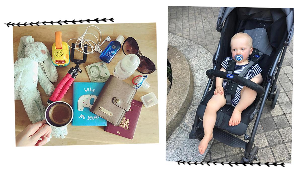 inpaklijst op reis baby