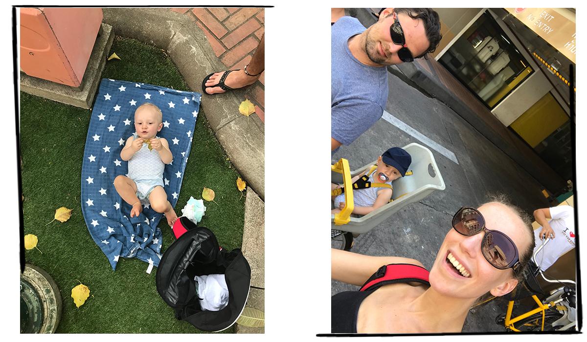 verre reis met baby dreumes