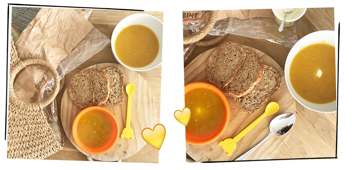 Healthy on a budget: Pompoensoep met zoete aardappel
