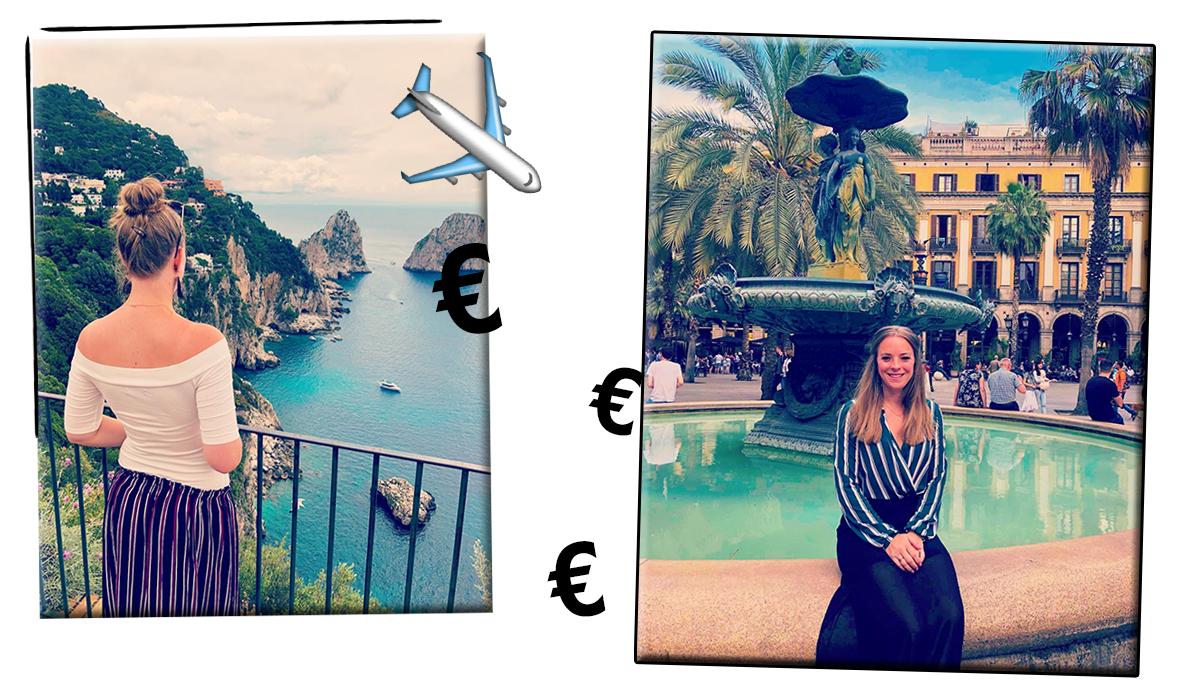 Het salaris van.. Lizzie (reisspecialist)