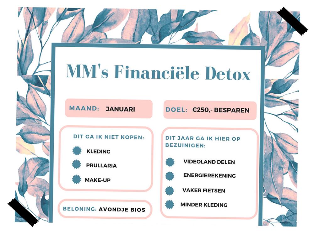Moneymom's financiële detox challenge