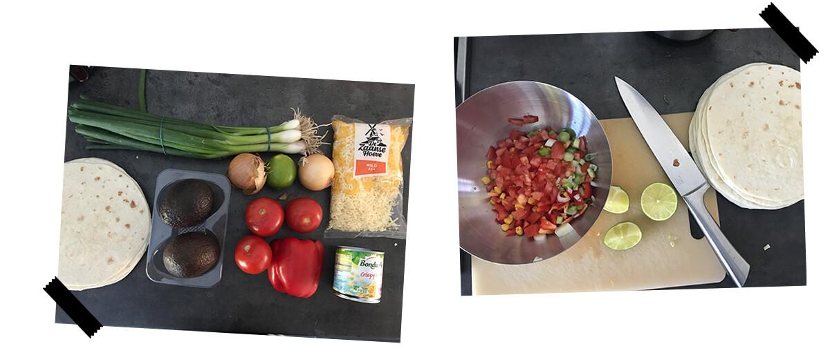 recept quesadillas