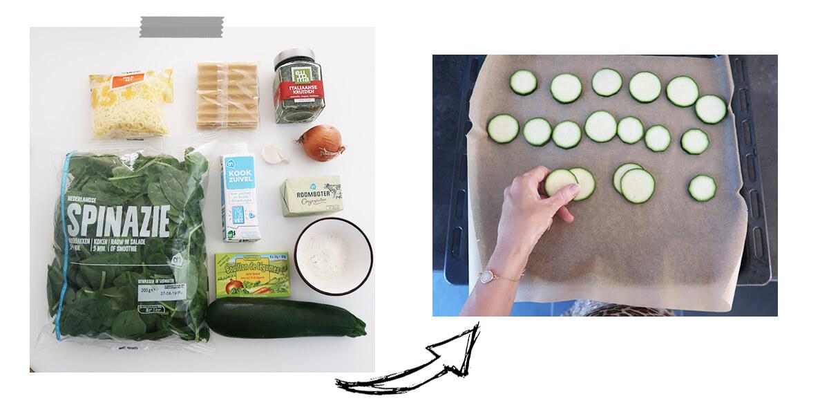 vegetarisch lasagne recept