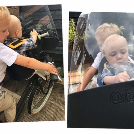 fietsen met baby