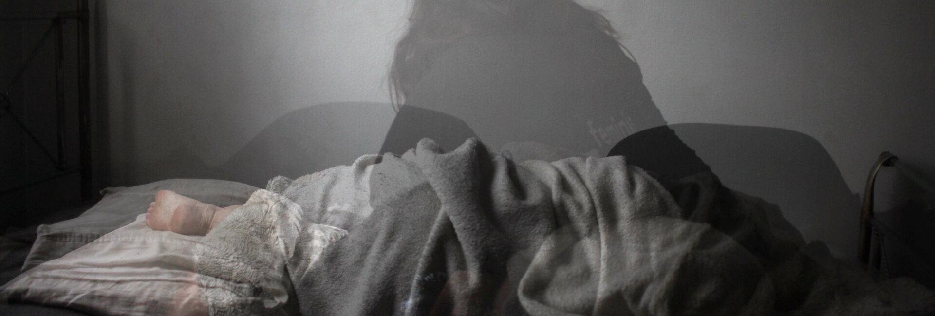 slapeloosheid na bevalling